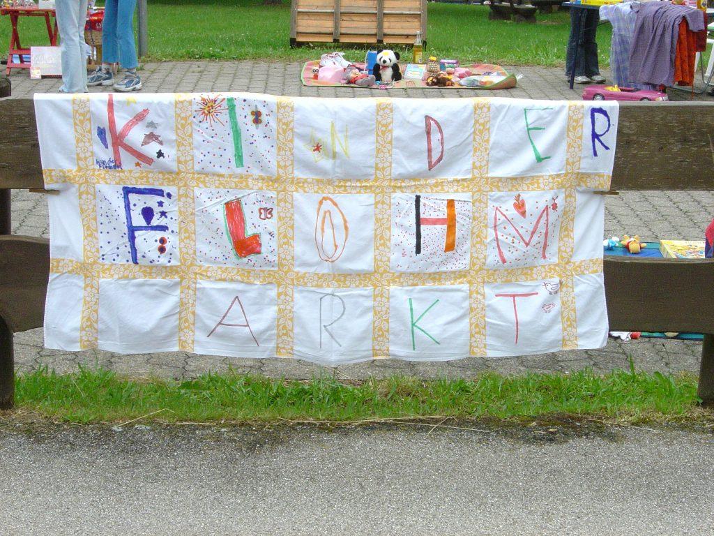 Kinderflohmarkt 2005