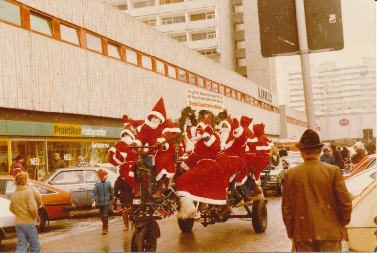 Im Olympia-Einkaufszentrum in München 1981