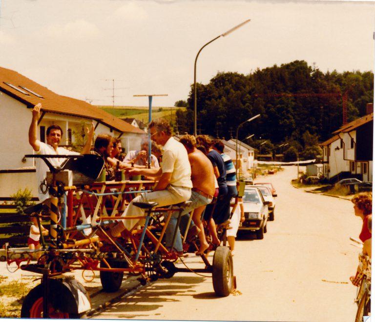 Die Radlgunde der Sulzbacher Radlstrampler